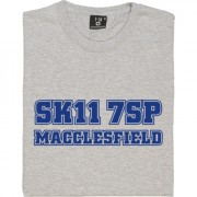 Macclesfield Town Postcode T-Shirt