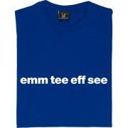 "Macclesfield Town ""Emm Tee Eff See"" T-Shirt"