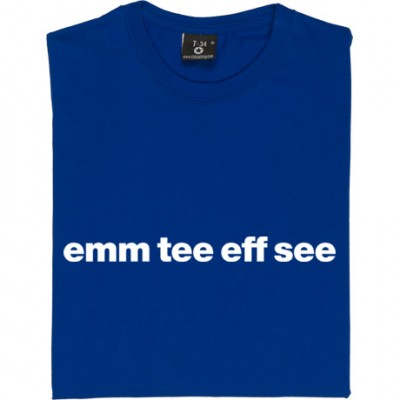 "Macclesfield Town ""Emm Tee Eff See"""