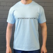 Manchester City: Maine Road Coordinates T-Shirt