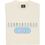 Manchester City Table Football T-Shirt