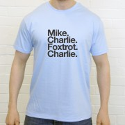 Manchester City FC: Mike Charlie Foxtrot Charlie T-Shirt