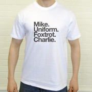 Manchester United FC: Mike Uniform Foxtrot Charlie T-Shirt