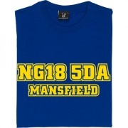 Mansfield Town Postcode T-Shirt