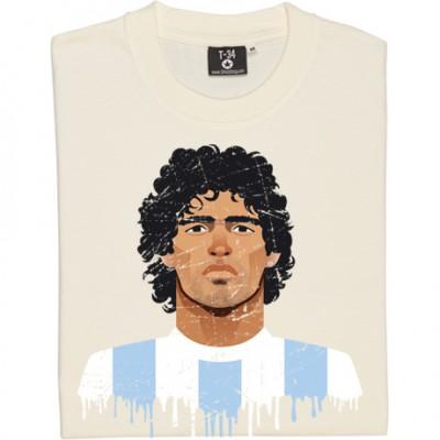 Diego Maradona Portrait