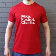 Middlesborough FC: Mike Foxtrot Charlie T-Shirt