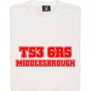 Middlesbrough Postcode T-Shirt
