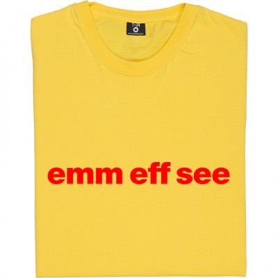 "Morecambe ""Emm Eff See"""