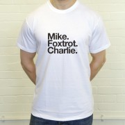 Morecambe FC: Mike Foxtrot Charlie T-Shirt
