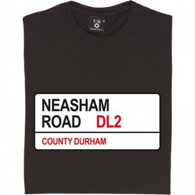 Darlington FC: Neasham Road DL2 Road Sign