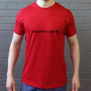 Rotherham United: New York Stadium Coordinates T-Shirt