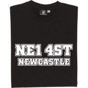 Newcastle United Postcode T-Shirt