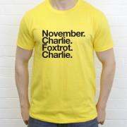 Newport County FC: November Charlie Foxtrot Charlie T-Shirt