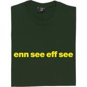 "Norwich City ""Enn See Eff See"" T-Shirt"
