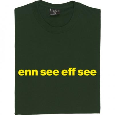 "Norwich City ""Enn See Eff See"""