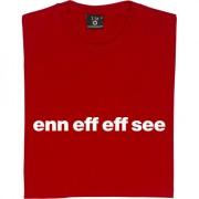 """Nottingham Forest """"Enn Eff Eff See"""" T-Shirt"""