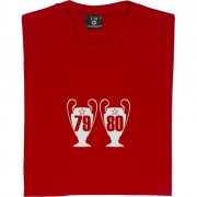 Nottingham Forest Two European Cups T-Shirt