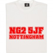 Nottingham Forest Postcode T-Shirt