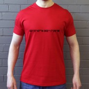 Manchester United: Old Trafford Coordinates T-Shirt