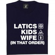Latics Kids Wife (In That Order) T-Shirt
