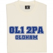 Oldham Athletic Postcode T-Shirt