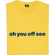 "Oxford United ""Oh You Eff See"" T-Shirt"