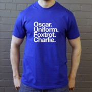 Oxford United FC: Oscar Uniform Foxtrot Charlie T-Shirt