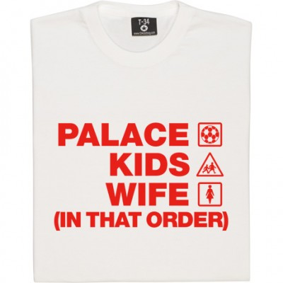 Palace Kids Wife (In That Order)