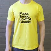 Partick Thistle FC: Papa Tango Foxtrot Charlie T-Shirt