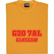 Partick Thistle Postcode T-Shirt