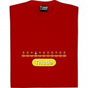 Partick Thistle Table Football T-Shirt