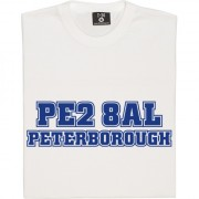 Peterborough United Postcode T-Shirt