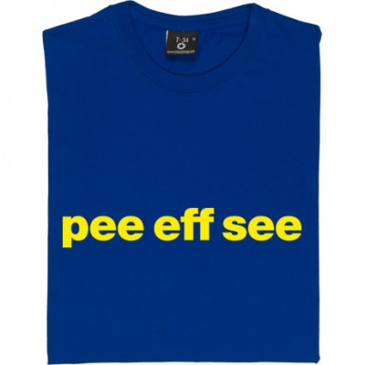 "Portsmouth ""Pee Eff See"""