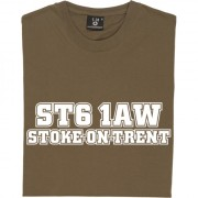 Port Vale Postcode T-Shirt