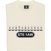Port Vale Table Football T-Shirt