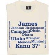 Portsmouth 2008 FA Cup Final Line Up T-Shirt