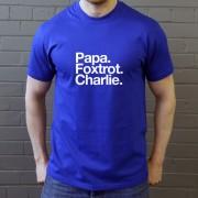 Portsmouth FC: Papa Foxtrot Charlie T-Shirt