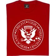 The Ramones: Bergkamp, Wright, Vieira, Pires, Henry T-Shirt