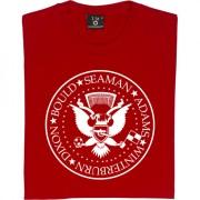 The Ramones: Dixon, Bould, Seaman, Adams, Winterburn T-Shirt