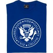 The Ramones Chelsea: Zola, Hasselbaink, Wise, Vialli, di Matteo T-Shirt