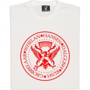 The Ramones Liverpool: Grobbelaar, Whelan, Hansen, Dalglish, Rush T-Shirt