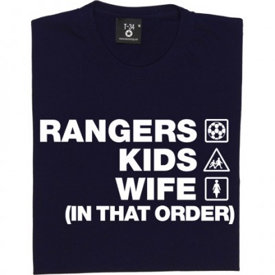 Rangers Kids Wife (In That Order)