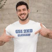 Rangers Postcode T-Shirt