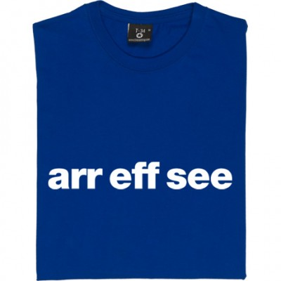 "Reading ""Arr Eff See"""