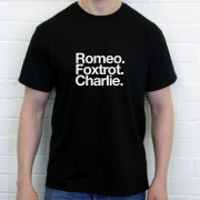 Reading FC: Romeo Foxtrot Charlie T-Shirt