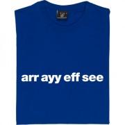 "Rochdale ""Arr Ayy Eff See"" T-Shirt"