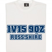 Ross County Postcode T-Shirt