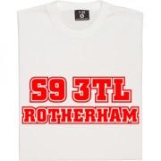 Rotherham United Postcode T-Shirt