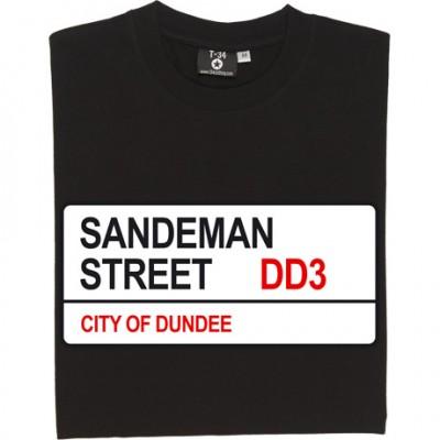 Dundee FC: Sandeman Street DD3 Road Sign