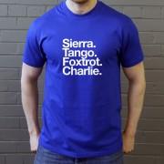 Shrewsbury Town FC: Sierra Tango Foxtrot Charlie T-Shirt